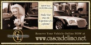 Cascade Limousine - Web Banner